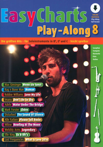 Easy Charts 8 Play-Along Schott
