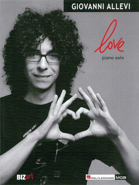 Hal Leonard Giovanni Allevi Love