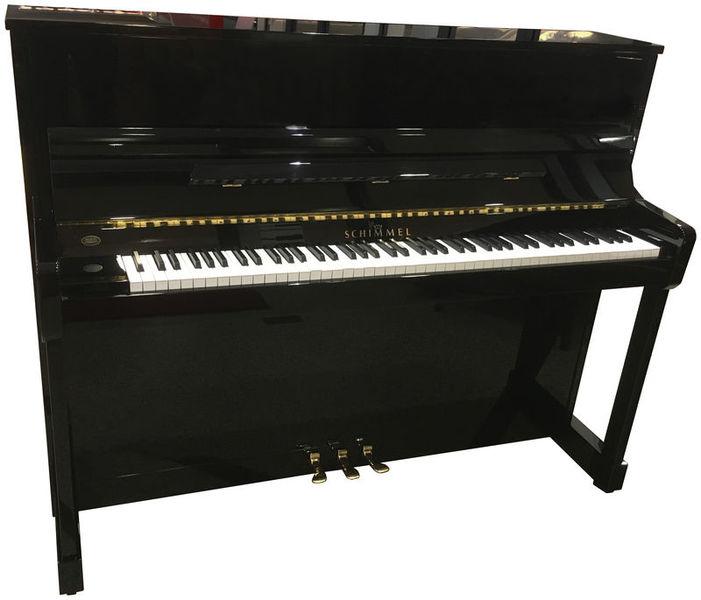 Schimmel Piano, used, black