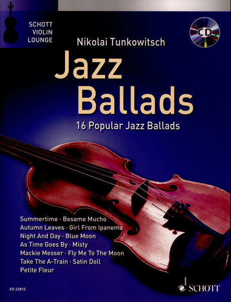 Jazz Ballads Violin Schott