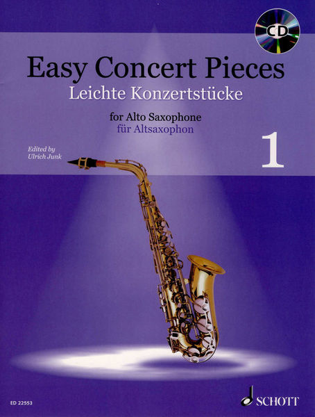 Schott Easy Concert Pieces A-Sax