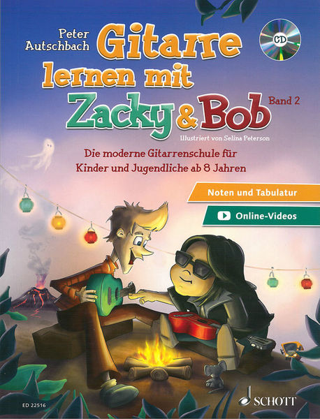 Gitarre Lernen Zacky & Bob 2 Schott
