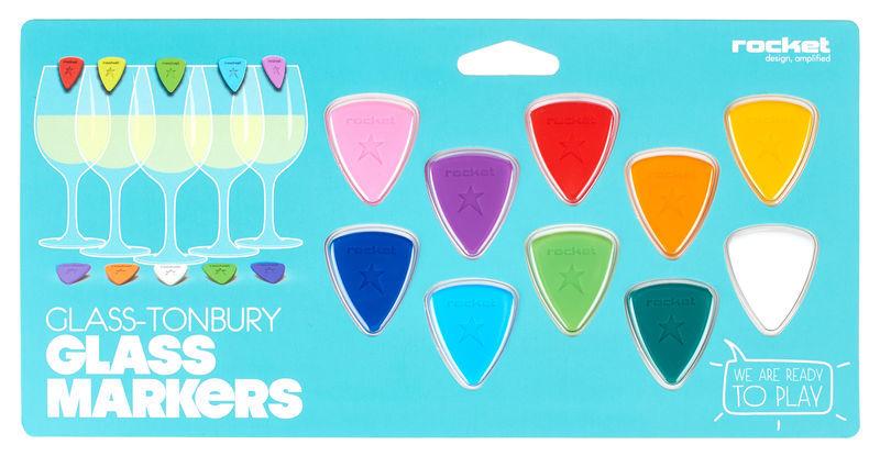 Rocket Glass-Tonbury - Glass Markers