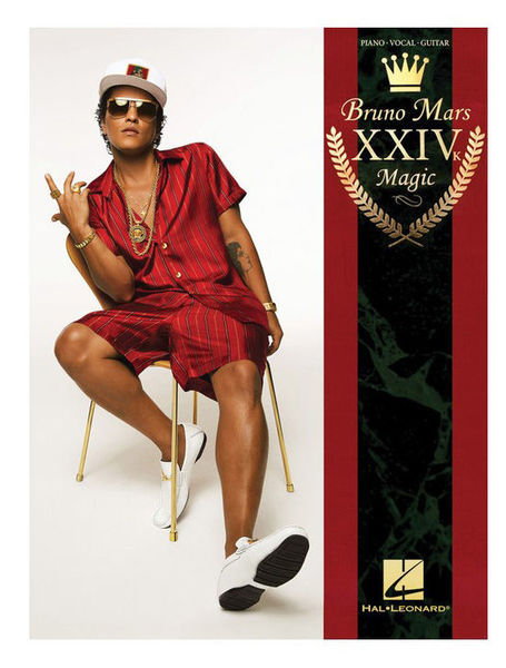 Hal Leonard Bruno Mars: 24K Magic