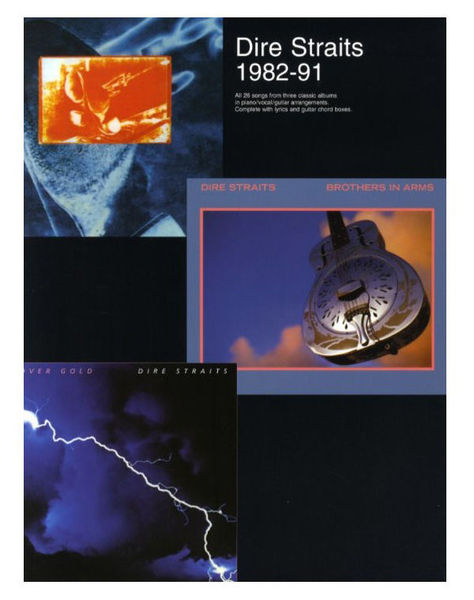 Wise Publications Dire Straits 1982-91
