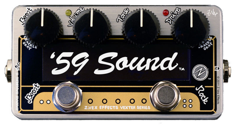 59 Sound Vexter Overdrive Z.Vex
