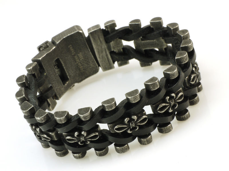 Rockys Bracelet Leather Braided