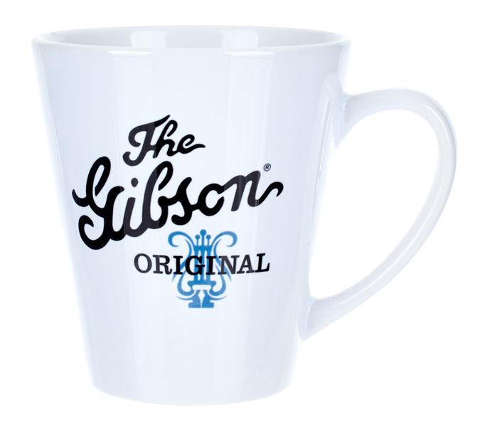 Gibson White Mug w. Original Logo