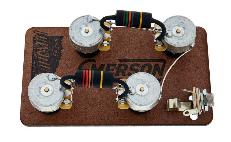 Emerson Custom LP Prewired Kit