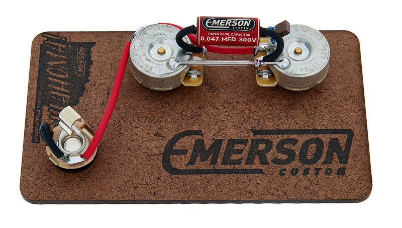 Emerson Custom P-Bass 250K Prewired Kit