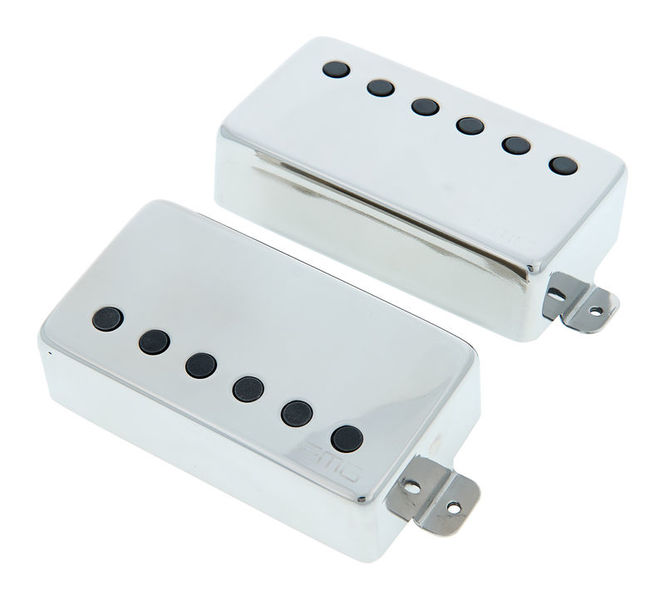 6 FREE STRING SETS 60A WHITE Active Solderless Humbucker Pickup Set EMG 81