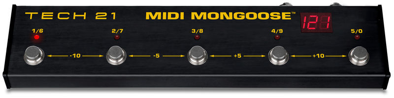 MIDI Mongoose Tech 21
