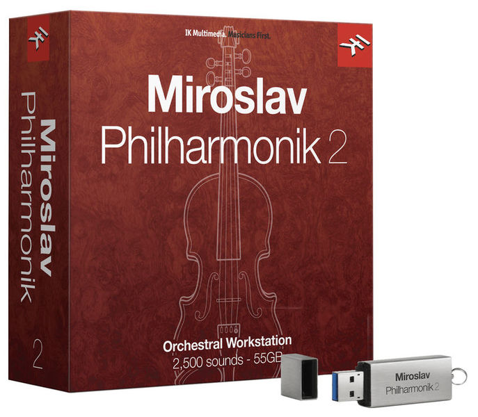 IK Multimedia Miroslav Philharmonik 2 Crossg