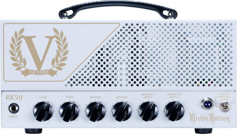 RK50 Compact Series Head Victory Amplifiers