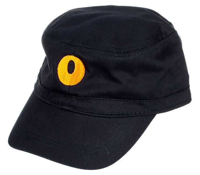 Orange Orange Cadet Hat O Motiv