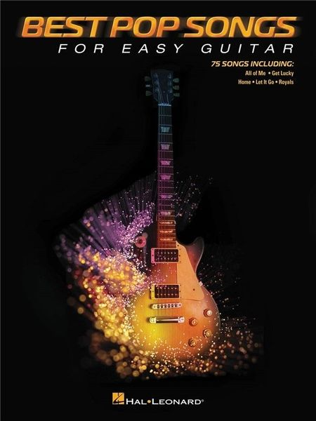 Hal Leonard Best Pop Songs For Easy Guitar