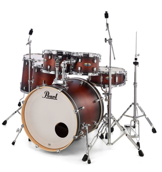 Pearl Decade Maple 6pc Satin Brown