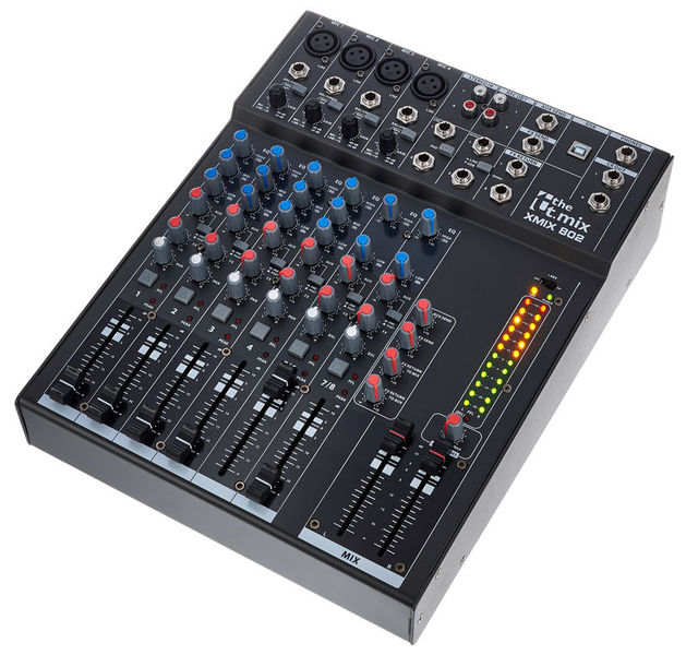 the t.mix xmix 802 USB