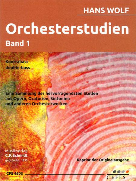 C.F. Schmidt Orchesterstudien 1 Double Bass