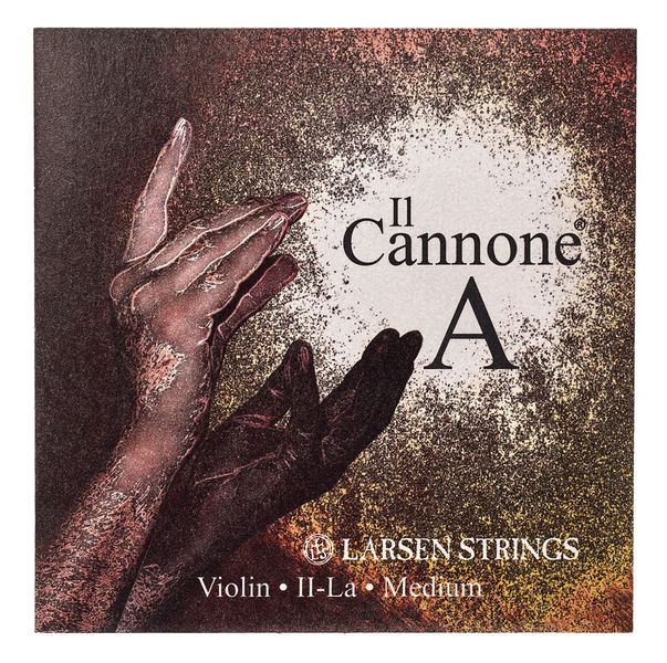 Larsen Il Cannone Violin String A Med