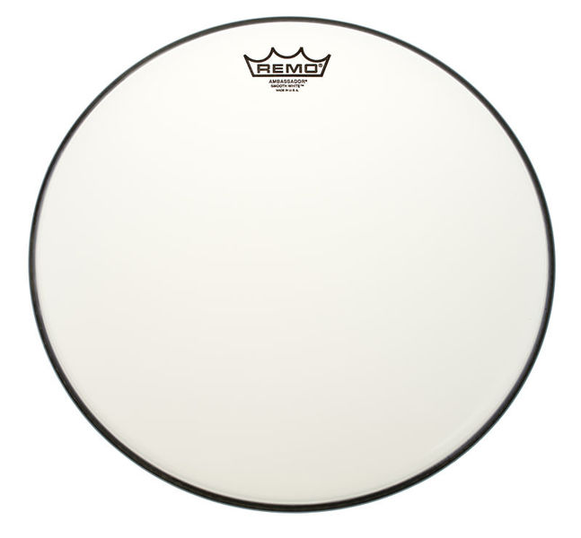 "Remo 13"" Ambassador Smooth White"