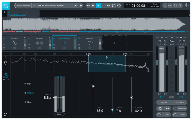iZotope Ozone 8 Advanced UG Elements