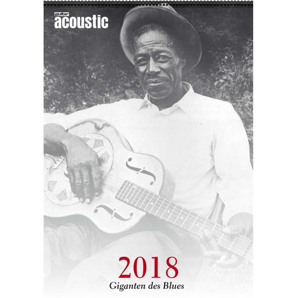 PPV Medien Acoustic Blues-Kalender 2018