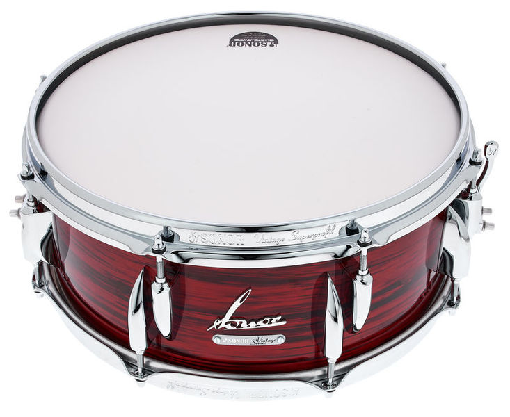 "Sonor 14""x5,75"" Vintage Snare Red Oy"