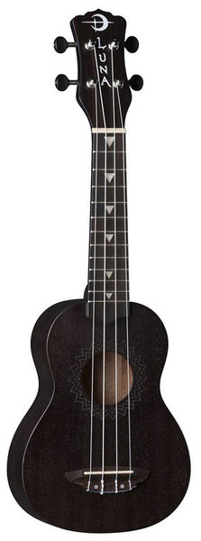 Luna Guitars Vintage Mahogany Soprano BS