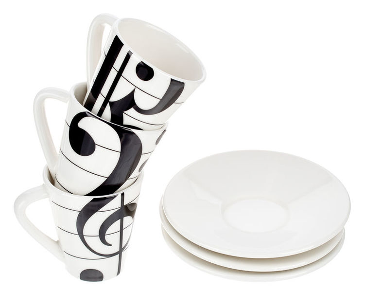 Music Sales Espresso-Set