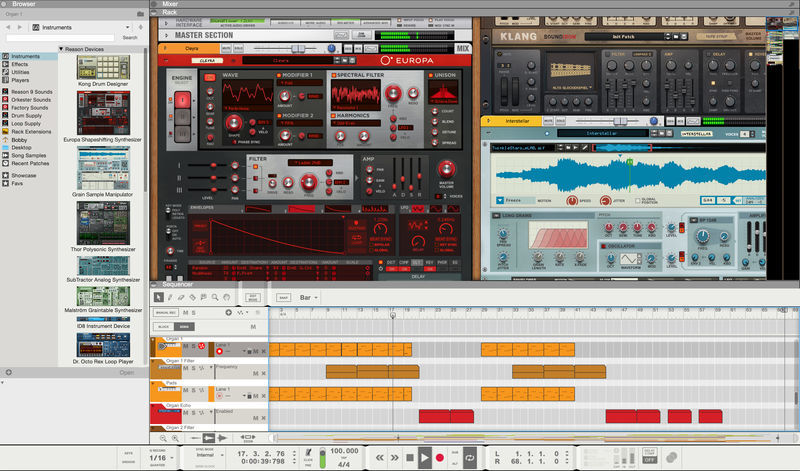 Propellerhead Reason 10 EDU