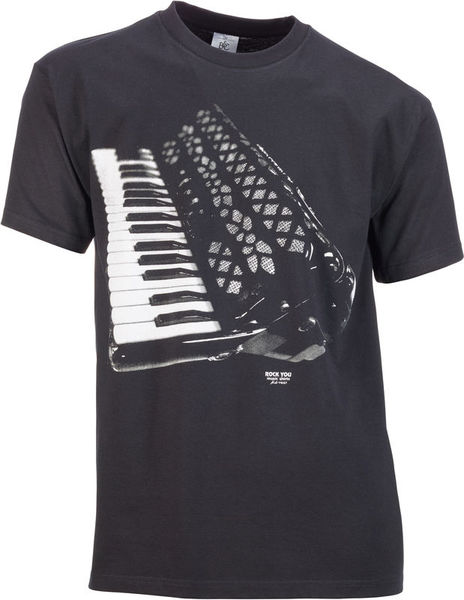 Rock You T-Shirt Accordeon M