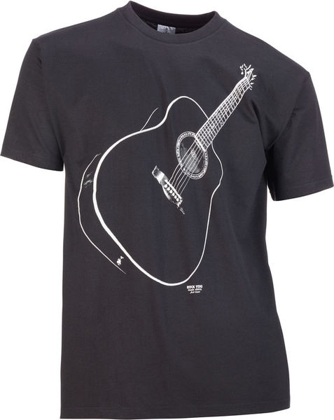 Rock You T-Shirt Black Clound M