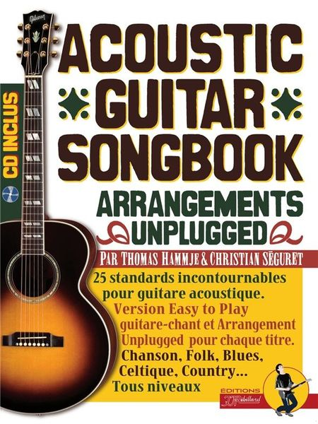 Editions JJ Rebillard Acoustic Guitar Songbook