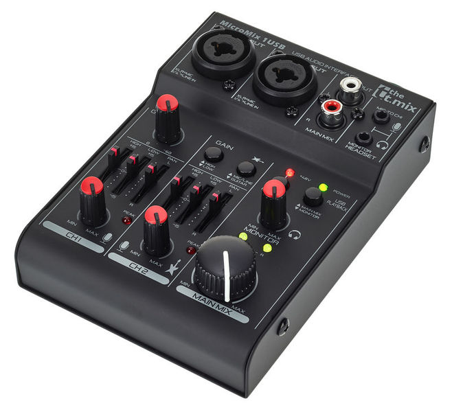 the t.mix MicroMix 1 USB