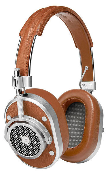 Master & Dynamic MH40 Silver Metal Brown