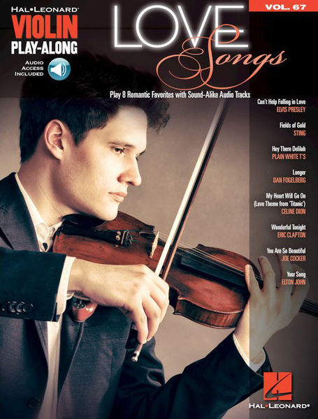 Hal Leonard Violin Play Along: Love Songs