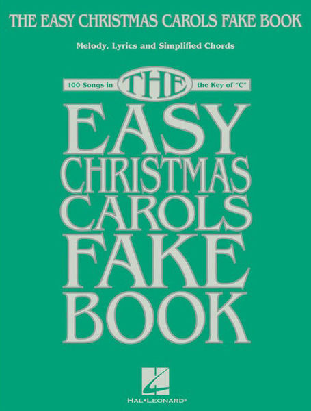 Hal Leonard The Easy Christmas Carols Fake