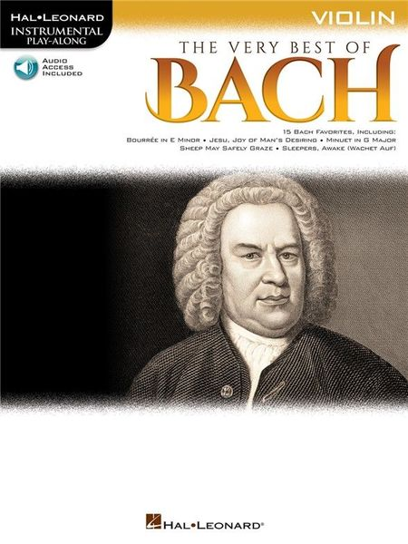 Hal Leonard Play-Along: Best Bach Violin