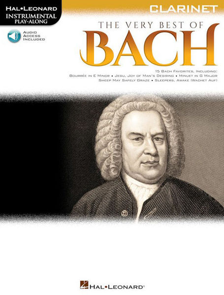 Hal Leonard Play Along: Best Bach Clarin.