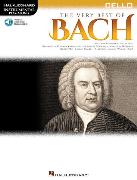 Hal Leonard Play Along: Best Bach Cello