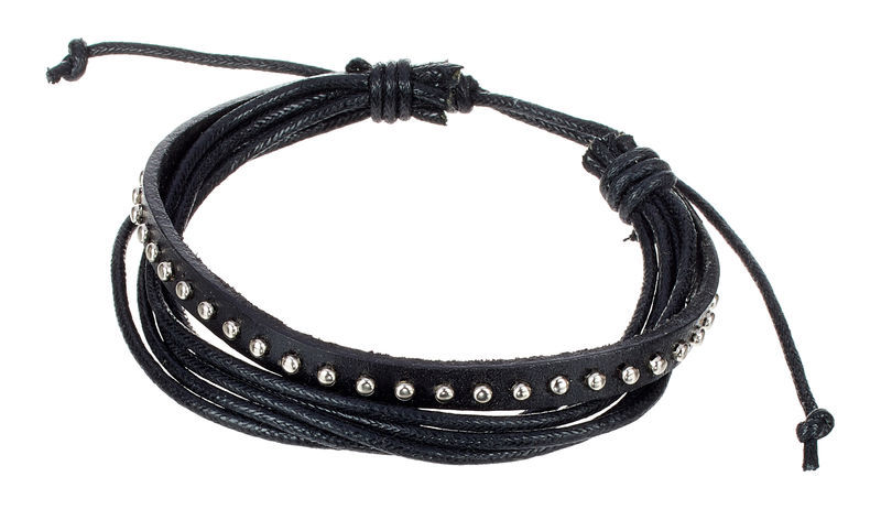 Rockys Bracelet Leather Metal Design