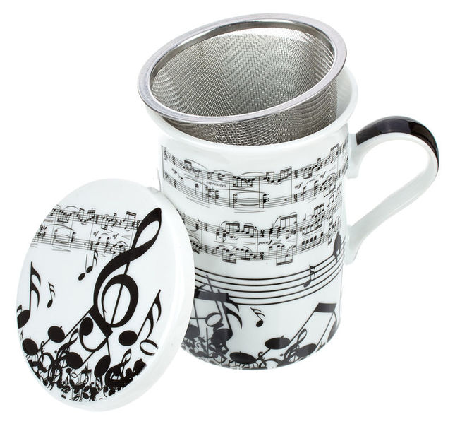 Anka Verlag Teacup with Tea Strainer