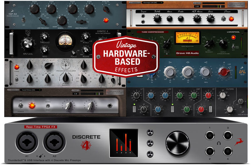 Antelope Discrete 4 Basic FX Collection