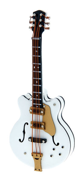 A-Gift-Republic Magnet E-Guitar White