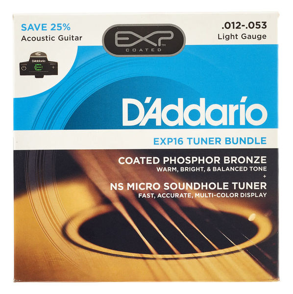 Daddario EXP16 - PW-CT-15 Set