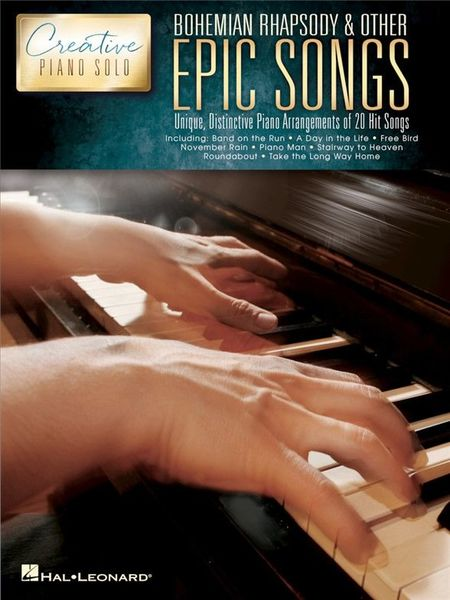 Hal Leonard Creative Piano: Epic Songs