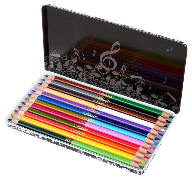 Anka Verlag 12 Colour Pencils w. 24 Colour
