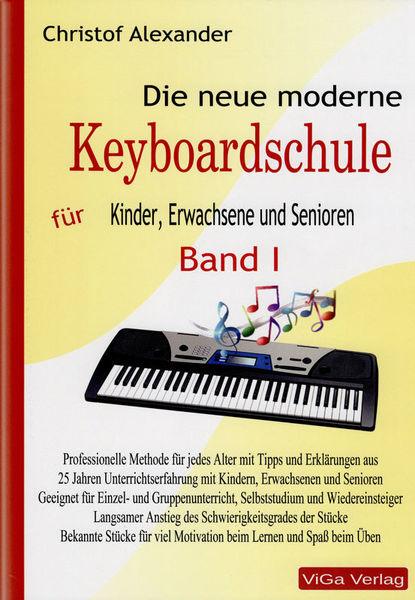 ViGa Verlag Neue moderne Keyboardschule