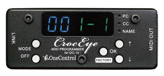 One Control CrocEye MIDI Programmer